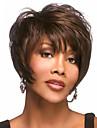 Europa och Förenta staterna hög kvalitet mode hög kvalitet hög temperatur syntetiskt hår silke kort hår peruk