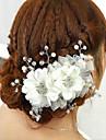 Crystal  Flower Hair Flower Bride Hair Wedding Headdress