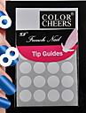 160pcs professionell göra mönster nail art verktyg (10x16pcs) # 18