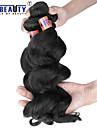 """4 st / lot 12 """"-24"""" 8a peruanska jungfru hår löst våg människohår väft 100% obearbetat peruanska remy hår väver"""