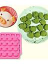 16 söta gris oink silikon tårta mögel blockchoklad istärningslåda
