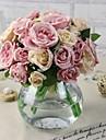 """1 Une succursale Soie / Plastique Pivoines Fleur de Table Fleurs artificielles (5.9""""X 10.23"""")"""