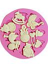 3d björn fötter baby leksak silikon fondant formar socker hantverksverktyg choklad mögel för tårta cupcake dekorerar