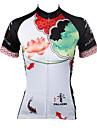 PALADIN® Maillot de Cyclisme Femme Manches courtes VeloRespirable / Sechage rapide / Resistant aux ultraviolets / Compression / Materiaux