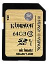 Kingston Digital 64GB SDXC Class 10 UHS-I Ultimate Flash-minneskort SDA10/64GB