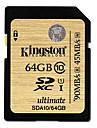 Kingston 64GB SDXC Classe numerique 10 UHS-I Ultimate Flash Memory Card SDA10/64GB