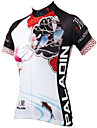 PALADIN® Maillot de Cyclisme Femme Manches courtes VeloRespirable Sechage rapide Resistant aux ultraviolets Compression Materiaux Legers