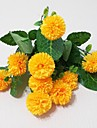 Soie Chrysanthemum Fleurs artificielles