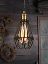 Max 40W Hängande lampor ,  Vintage / Rustik Målning Särdrag for Ministil MetallLiving Room / Bedroom / Dining Room / Skaka pennan och