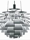 40W Lustre ,  Contemporain Chrome Fonctionnalite for Style Bougie MetalSalle de sejour / Chambre a coucher / Salle a manger / Salle de