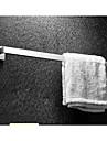 Barre porte-serviette - Contemporain - Miroir Poli - Fixation au Mur