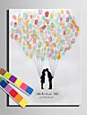 e-home® personalizate pictura amprentă panza printuri - un iubitor de saruturi (include 12 culori de cerneală)