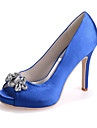 Women\'s Shoes Silk Stiletto Heel Peep Toe Sandals Wedding/Party & Evening  Wedding Shoes More Colors available