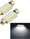 Lumiere d\'Instrument/Lampe de Lecture/Lumiere de Plaque d\'Immatriculation/Lampe Frontale ( 6000K , Spot ) LED - Voiture