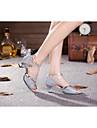 Женская обувь - Искусственная кожа/Мерцающая отделка/Пайетки/синтетический - Номера Настраиваемый ( Красный/Серебряный/Другое ) -Танец