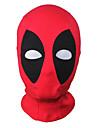 Mask Superhjältar Zentai Cosplay-kostymer Röd Lappverk Mask Lycra Spandex Unisex Halloween Jul