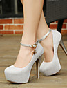 Chaussures de mariage - Noir / Rose / Argent - Mariage / Exterieure / Bureau & Travail / Habille / Decontracte / Soiree & Evenement -
