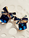"""New Arrival Hot Selling High Quality Crystal Bow Earrings"""