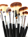 15 Makeup Brushes Set Synthetic Hair Professional / Travel / Full Coverage / Synthetic / Eco-friendly / Limits bacteria / Hypoallergenic