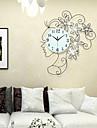 Horloge murale - Rond/Nouveaute - Moderne/Contemporain - en Metal/Polyresine