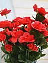 Une succursale Polyester Azalee Fleur de Table Fleurs artificielles 5(1.97\'\')