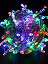 WENTOP 10 M 100 LED Dip Blanc chaud/Blanc/Rouge Vert Bleu/Rouge/Jaune/Bleu/Vert/Violet/Incarnadin Etanche 4 W Guirlandes Lumineuses