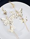 Cercei Picătură Aliaj Argintiu Auriu Bijuterii Pentru Nuntă Petrecere Zilnic Casual 2pcs