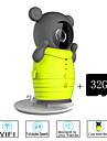 besteye® 32gb tf kort och söt trådlös wifi kamera med ir mörkerseende ip övervakning trådlös kamera