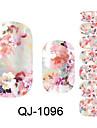Beautiful Flower Fairy Various Flowers Nail Art Stickers