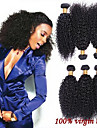 3Pcs/Lot  Brazilian Afro Kinky Curly Virgin Hair Bundles Cheap Human Hair Weave Brazilian Virgin Curly Hair Extensions