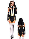 Costumes de Cosplay / Costume de Soiree Costumes egyptiens Fete / Celebration Deguisement Halloween Noir Mosaique Robe / Casque / Gants