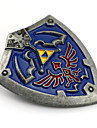 Smycken Inspirerad av The Legend of Zelda Cosplay Animé/ Videospel Cosplay Accessoarer Bricka / Brosch Blå Legering Man
