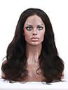2015 bäst säljande 8 \'\' - 24 \'\' populära våg jungfru indiska människohår peruker spets front peruker med baby hår för svarta kvinnor