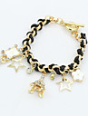 XIXI Women\'s The Newest Fashion Casual Gold Plated/Rhinestone Chain Bracelet