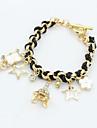 XIXI Women\'s The Newest Fashion Casual Gold Plated/Rhinestone Chain Bracelet