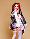 Japanese Cherry Blossom Kimono Maid Lolita Princess Dress Costume