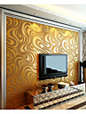 New Rainbow™ Contemporary Wallpaper Art Deco 3D Simple Style Wall Covering Non-woven Fabric Wall Art