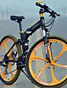 Mountainbikes Hopfällbar Cykel Cykelsport 27 Hastighet 26 tum/700CC 60mm Herr MICROSHIFT TS70-9 Skivbroms Springergaffel