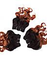 A Ombre Cheveux Peruviens Ondulation Lache tissages de cheveux