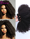 3pcs Lot 100% Brazilian Virgin Hair Kinky Curly Wave  Human Hair Extensions Natural Black Hair Weaves