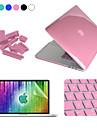 """Enkay 4 i en kristall skyddsfodral + skärmskydd + tangentbord film + anti-damm pluggar för macbook pro retina 13,3 """""""