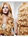 монолитным долго высокое качество доступно синтетический вьющиеся волосы парик несколько