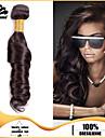 3pcs faisceaux de cheveux bresiliens tisse brun fonce vagues de l\'ocean cheveux de trame 100% non transformes bresilien trame de cheveux