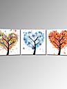 visuelle star®hot vente arbre chanceux peinture sur toile art pret a accrocher