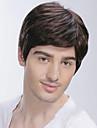 Top qualite grade les perruques des hommes de cheveux humains