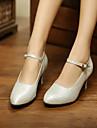 Chaussures de danse (Argent/Or) - Personnalisable - Talons personnalises - Similicuir - Moderne