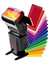 universell toppen blixt 12 färger filtrering
