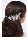 Serre-tete Casque Mariage / Occasion speciale / Casual Argent pur / Alliage Femme Mariage / Occasion speciale / Casual 1 Piece