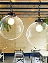 Max 60W Hängande lampor ,  Traditionell/Klassisk / Kontor/företag Rektangulär Särdrag for Ministil MetallBedroom / Dining Room / Skaka