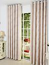 Deux Panneaux Le traitement de fenetre Rustique Salle de sejour Melange Poly/Coton Materiel Rideaux Tentures Decoration d\'interieur For